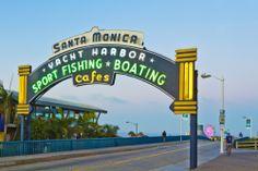 ¡Visita #SantaMonica! Disfruta de sus playas y de los agradables paisajes que al atardecer embellecen las costas. Placeres que puedes vivir en #LosAngeles. http://www.bestday.com.mx/Los-Angeles-area-California/Atracciones/