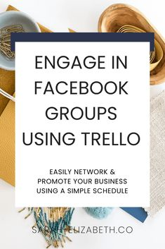 Facebook groups are perfect for networking and promoting your business, but can be a bit overwhelming without a solid strategy. Click through to learn how you can stay active and engaged in Facebook groups by creating a Facebook group schedule using Trello! Business tips - entrepreneur tips - facebook groups interaction - facebook groups for business - business networking #businesstips #entrepreneur #socialmedia #socialmediatips What Is Social Networking, Risks Of Social Media, Top Social Media, Types Of Social Media, Social Media Marketing Business, Social Media Branding, Facebook Business, Business Networking, Facebook Marketing