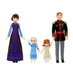 Disney Frozen 2 Arendelle Royal Family 4 Doll Set for sale online Disney Barbie Dolls, Barbie Skipper, Greek Royal Family, Danish Royal Family, Frozen Movie, Disney Frozen 2, Frozen Party, Frozen Merchandise, Movie Inspired Outfits