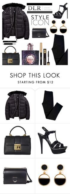 """""""DLRBOUTIQUE.COM"""" by ice87 ❤ liked on Polyvore featuring J Brand, Sonia Rykiel, Yves Saint Laurent, Jimmy Choo and Warehouse"""