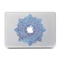 iCasso Leaves Removable Vinyl Decal Sticker Skin for Apple Macbook Pro... ❤ liked on Polyvore featuring filler