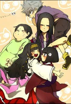 Killua, Illumi, Milluki, Kalluto, and Alluka        ~Hunter X Hunter