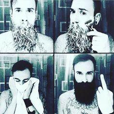 #gravebeforeshave #beardclub