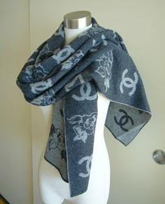 chanel scarf pris