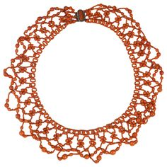 A 19th Century Coral Bead Necklace | From a unique collection of vintage beaded necklaces at https://www.1stdibs.com/jewelry/necklaces/beaded-necklaces/