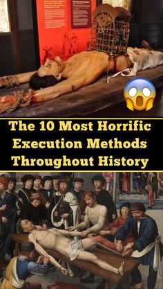 Whether involving rats, spikes, or boiling oil, the worst execution methods ever invented prove that humans have mastered the art of torture and death. Angels And Demons, Serial Killers, Wtf Funny, New Pins, Spikes, 5 Ways, Rats, Top Rated, Random Stuff