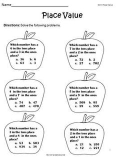 Free Place Value Quiz & IXL Math Recording Sheets (Math Tech ...