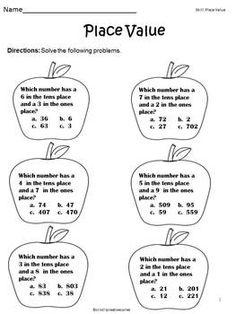 PLACE VALUE - TeachersPayTeachers.com