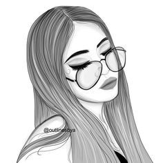 Nina Con Gafas Dibujo Buscar Con Google Imagenes De Dibujos Tumblr Lindos Dibujos Tumblr Dibujos Tumblr Para Colorear