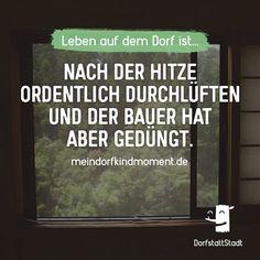 Nimm mal einen Hieb - http://ift.tt/2wIKcde - #dorfkindmoment #dorfstattstadt