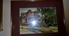 Watercolor by Don King at Crown City Estate Sales in Verdugo City/ Montrose Ca. www.crowncityestatesales.com