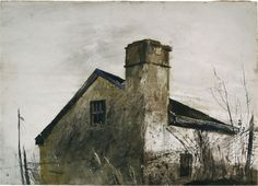 "Andrew Wyeth, ""House Near Chad's Ford"""