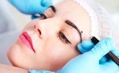 Microblading für natürliche Augenbrauen
