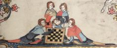 Thomas guild - medieval woodworking, furniture and other crafts: Faulty medieval chess boards Medieval Games, Medieval Art, Medieval Manuscript, Illuminated Manuscript, Parlor Games, Medieval Furniture, Childhood Games, History Activities, Book Of Hours