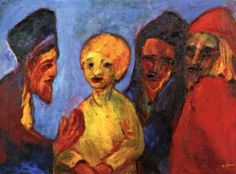 Jesus and the Doctors of the Law - Emil Nolde - The Athenaeum