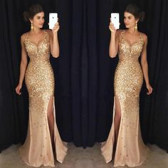 Gorgeous_gold_beaded_illusion_deep_v-neck_long_prom_dress_original
