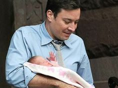 Jimmy Fallon reveals he and his wife used a surrogate to have 1st child. (via @TODAY)