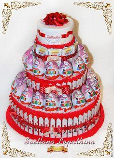 торт из конфет для детского сада - Поиск в Google