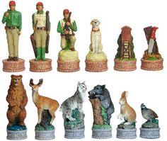 Fame 7481 American Hunter's Chessmen