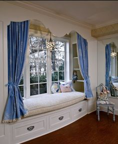 cozy window seat nook for girls bedroom play area