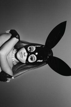 Ariana Grande / Into You Ariana Grande Images, Ariana Grande Fotos, Ariana Grande Wallpapers, Ariana Grande Photoshoot, Ariana Grande Bunny, Black And White Picture Wall, Black And White Pictures, Nickelodeon Victorious, Grand Noir