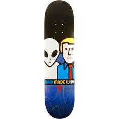 Alien Workshop Who Made Who skateboard deck- now at Warehouse Skateboards! #skateboards #wskate