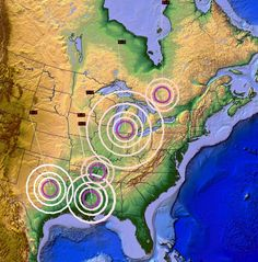 5/03/2015 -- Major Earthquake activity in the United States -- Michigan,...