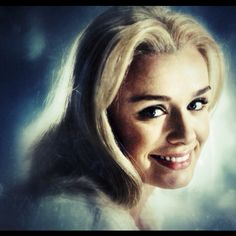 Katherine Jenkins. Again. Such a beautiful smile.