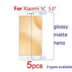 5pcs Screen Protector Shield HD Clear/Matte/Nano Explosion Proof Guard Protective Films for Xiomi Xiaomi Mi 5C Mi5c Mobile Phone #Affiliate