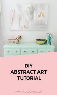 Need some artwork for your home? Something budget-friendly? Paint this gorgeous…