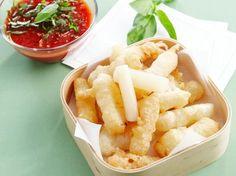 Recepten - Schorseneren in tempura en pikante citroen-basilicumsaus