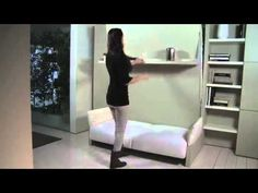 Just watch the shelf - Nuovoliola | Resource Furniture | Wall Bed Systems
