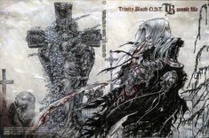Shibamoto Thores, Gonzo, Trinity Blood, Abel Nightroad, Lilith Sahl