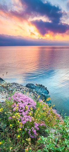 Sunrise at the Strandzha Nature Park in Bulgaria