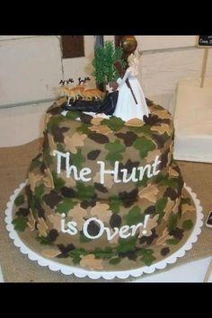 Cute For A Camo Wedding