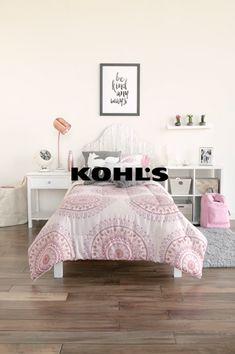 The college nights may be the late but the mornings are too, so you know they'll be getting a lot of use out of their new dorm bedding. Make sure their first decorating decision is one they'll love that will last all year. Get them ready to go back to college and back to the best year yet with Kohl's.