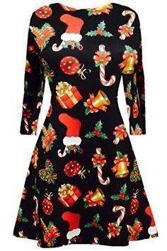 Damen Weihnachten Swing Kleider Damen Weihnachten Aufdruck Schneemann Santa Rentier Kleid – Geschenk http://www.geschenkewebshop.info/produkt/damen-weihnachten-swing-kleider-damen-weihnachten-aufdruck-schneemann-santa-rentier-kleid-geschenk/  #geschenk #weihnachten #damenkleider #damen #kleider