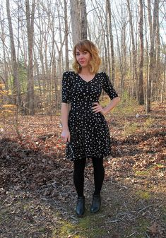 Lauren's Agnes dress - sewing pattern by Tilly and the Buttons