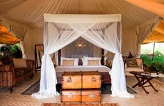 Das Cottar's 1920s Safari Camp ist ein Familienbetrieb: Schon sein 1919 bieten die Cottars Safaris und Camping in Kenia an.