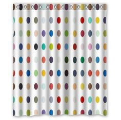 "Amazon.com - Standard-Store Custom polka dot Shower Curtain 60"" x 72"" -"