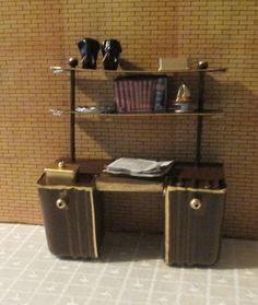 221B Baker Street - work table