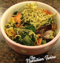 Copycat Ramen Noodles - Vegan Japanese Noodles with Veggies - Nutrition Twins