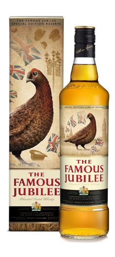 The Famous Grouse Jubilee packaging