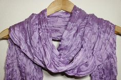 Silky Lilac Scarf Turban Turband Hair Wrap by SULTANSACCESSORIES, $7.50