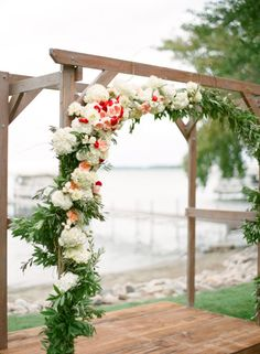 Stunning: http://www.stylemepretty.com/2015/04/14/rustic-chic-minnesota-lakeside-wedding/ | Photography: Laura Ivanova - http://www.lauraivanova.com/
