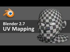 Blender 2.7 UV Mapping 3 of 4 - YouTube