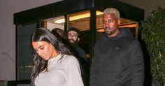 Kim Kardashian West and Kanye West Do Date Night in Yeezy Season 4 Footwear - Vogue Loving those jeans on Kim