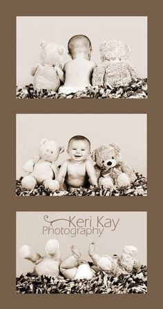 New Born Baby Photography Picture Description Cute baby shoot with stuffed animals Newborn Pictures, Baby Pictures, Cute Pictures, Newborn Pics, Baby Newborn, Baby Monthly Pictures, 6 Month Pictures, Photo Bb, Jolie Photo