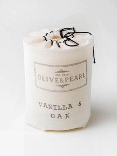 Vanilla & Oak - O L I V E & P E A R L