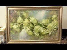 (138) Хризантемы за 2 часа. To paint chrysanthemum for 2 hours. Живопись маслом. Как нарисовать хризантемы - YouTube